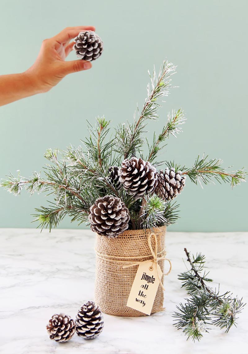 This ultimate collection of Farmhouse Pinecone DIY Ideas that will let you create a Winter Wonderland in your very own home. Each creations has tons of Farmhouse Charm