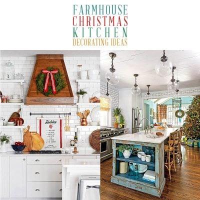 Farmhouse Christmas Kitchen Decorating Ideas