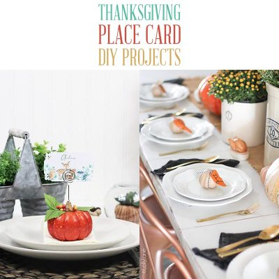 Thanksgiving Place Card DIY Projects