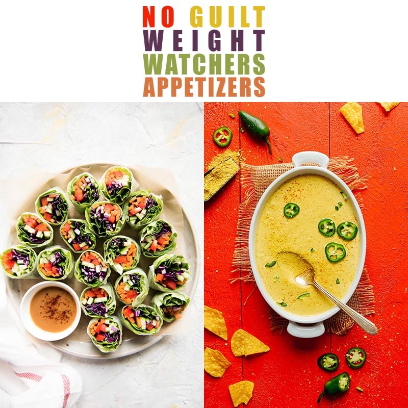 These No Guilt Weight Watchers Appetizers are going to bring smiles to your family and friends tastebuds for sure! Be sure to make a double order… they are going to fly!