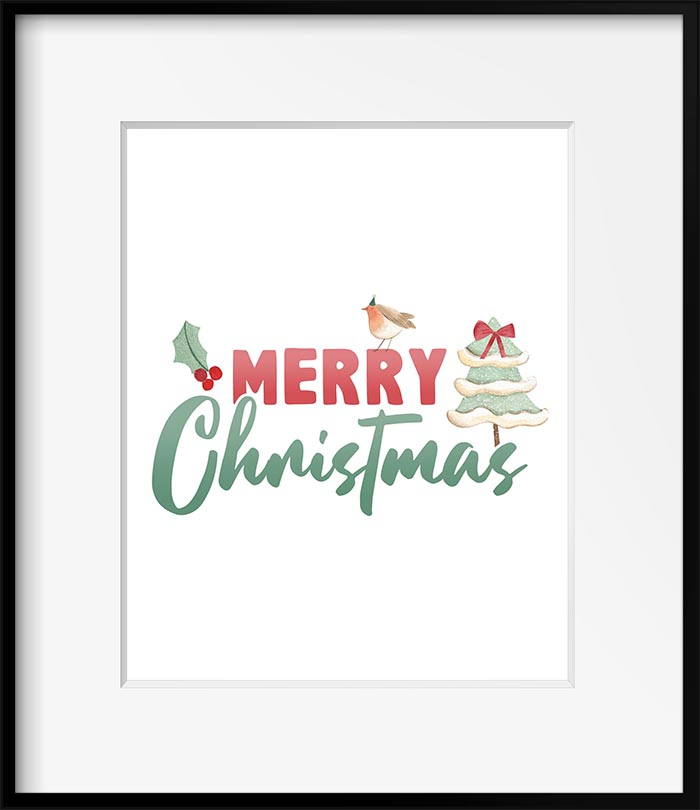 This Free Printable Merry Christmas Collection will bring tons of joy and charm to your home.  Adorable Santa, Elves and more just ready to be added to the festivities!