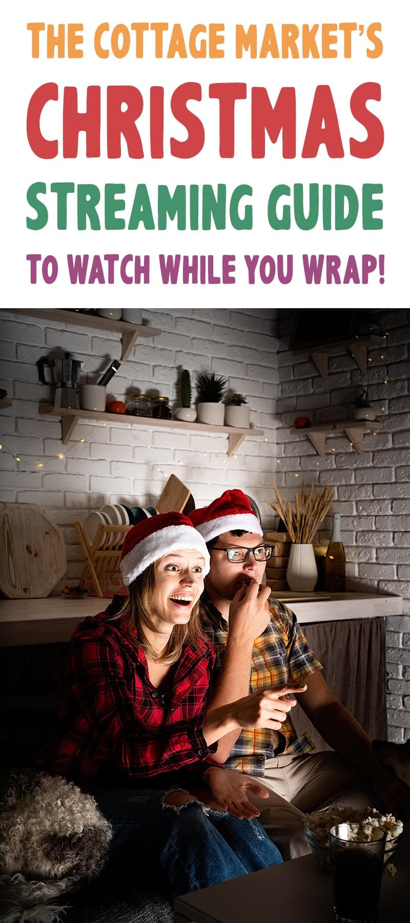 Here is a fun and merry Christmas Streaming Guide to Watch While You Wrap! Some new ones and some classics to enjoy!