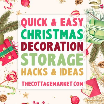 Quick and Easy Christmas Decoration Storage Hacks and Ideas