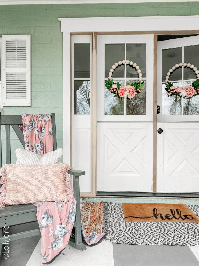 Front Door Fun Because First Impressions Matter. A little reminder what your front door says about you and your home! Add a touch of personality with color and decoration!