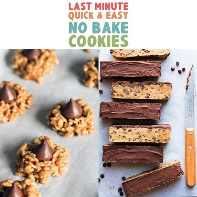 Last Minute Quick and Easy No Bake Cookies