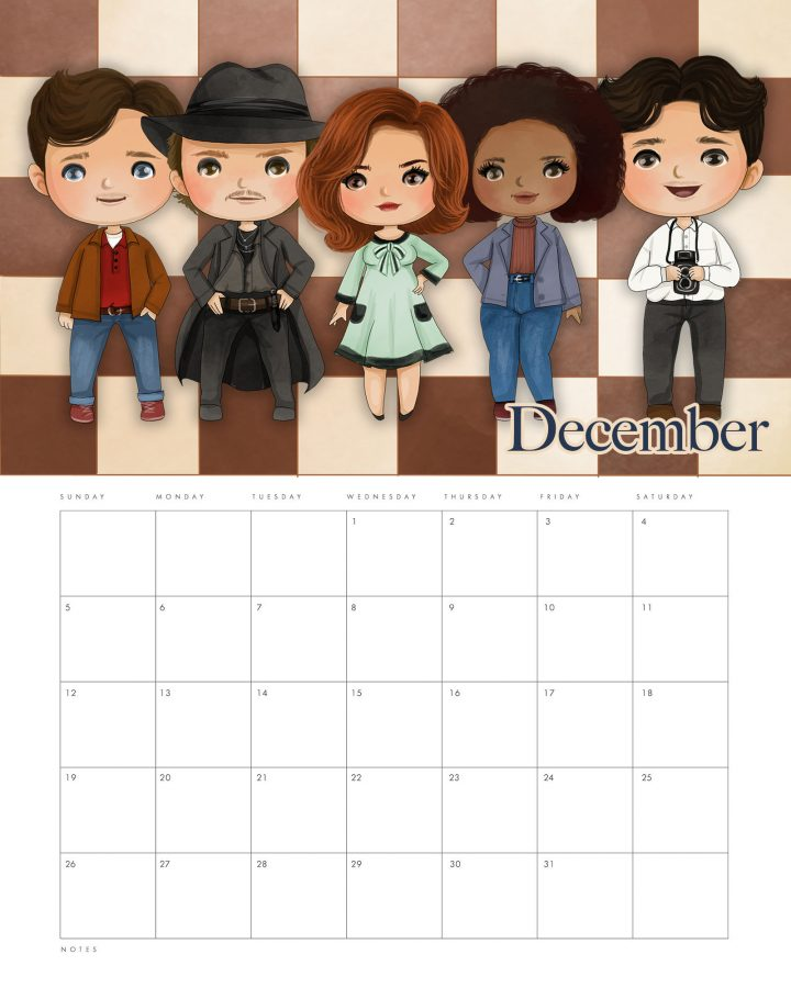 This Free Printable 2021 The Queen's Gambit Calendar is just what you need to keep you organized this year! It's fun... looks great and has space for those appointments and special occasions!
