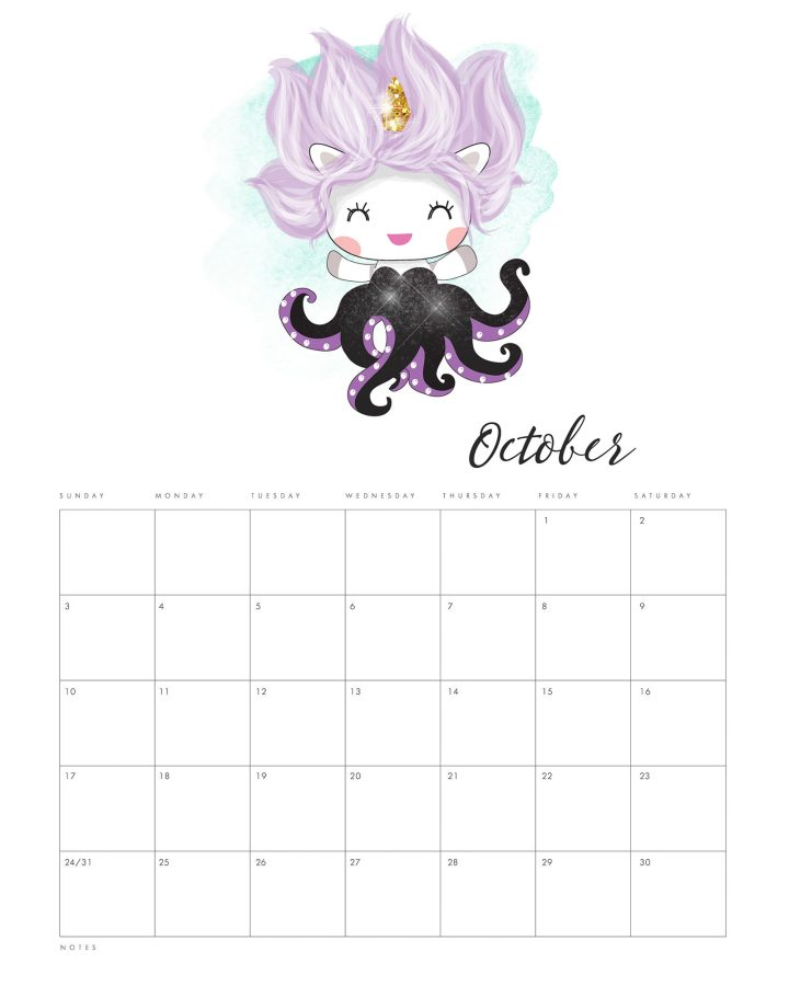 Need a Unicorn Calendar for the New Year? Well we have a special and unique Free Printable 2021 Pop Culture Unicorn Calendar! Even a Harry Potter one : )
