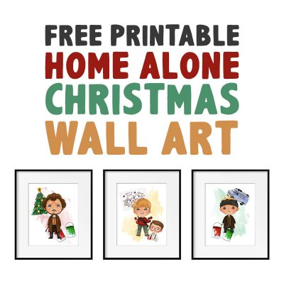 Free Printable Home Alone Christmas Wall Art