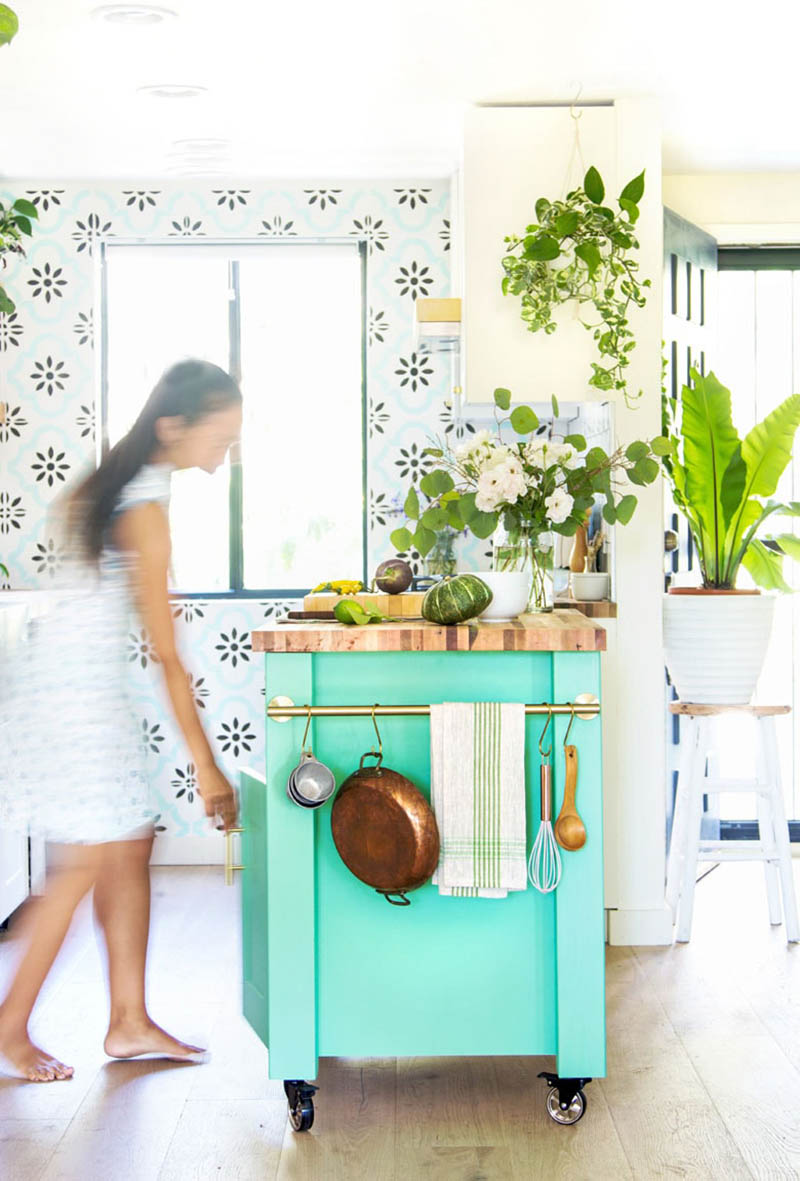 These Kitchen IKEA Hacks are going to turn heads for sure! The minute someone visits your Kitchen I guarantee they are going to ask... where did you get that and you can say... I made it!