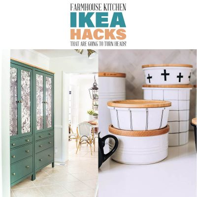 Farmhouse Kitchen IKEA Hacks that are going to turn heads!