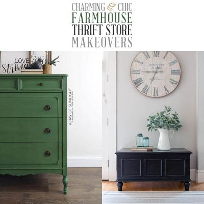 Charming and Chic Farmhouse Thrift Store Makeovers!