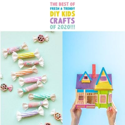 The Best Fresh and Trendy DIY KIDS Crafts of 2020