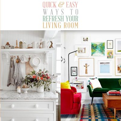 Quick and Easy Ways to Refresh Your Living Room