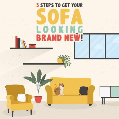 5 Steps to Get Your Sofa Looking Brand New