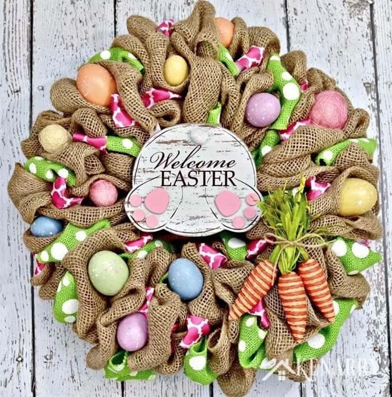 The Most Spectacular Spring Farmhouse Wreaths are waiting to inspire you to create! From a Contemporary to Classic... there is something for everyone!