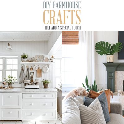 DIY Farmhouse Crafts That Add a Special Touch