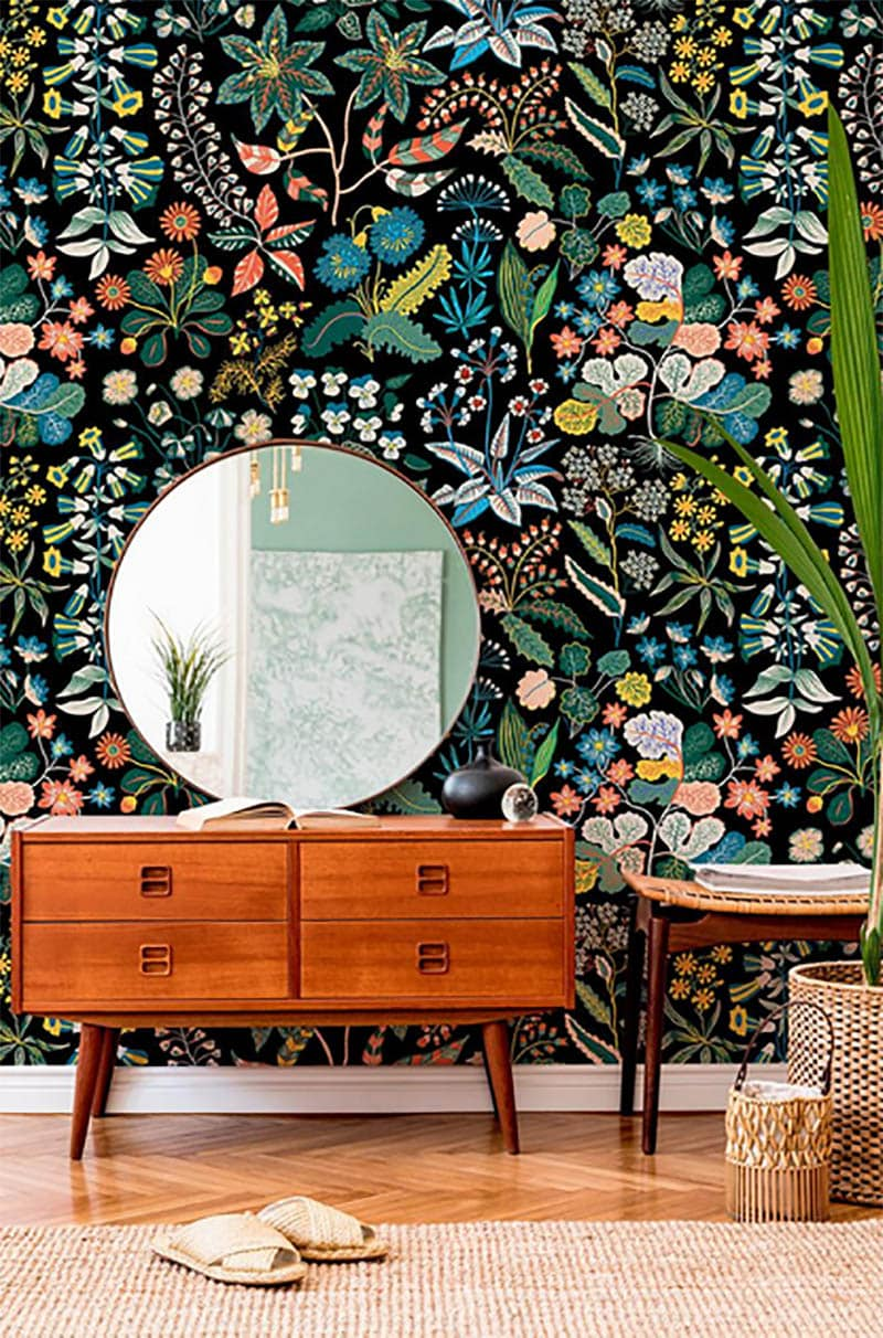 Come and see how Wallpaper can Transform Your Space magically.  It can take a regular room and turn it into something totally awesome and inviting.