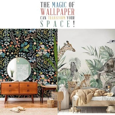 The Magic of Wallpaper can Transform Your Space