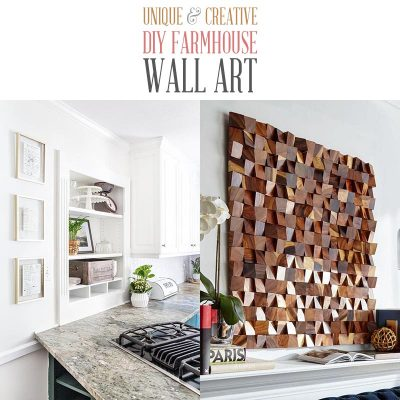 Unique and Creative DIY Farmhouse Wall Art