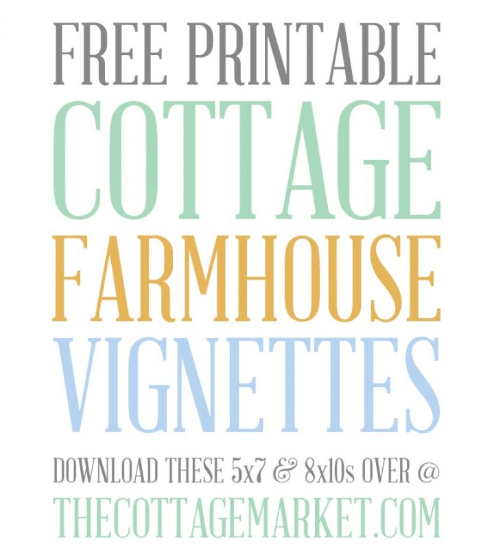 These Free Printable Houseplant Vignettes are going to look amazing in your home no matter the decor. Perfect for Farmhouse to Modern and everything in between!