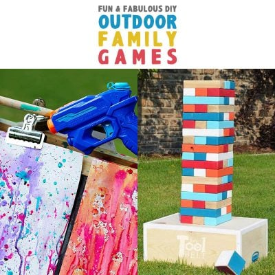 Fun and Fabulous DIY Outdoor Family Games!