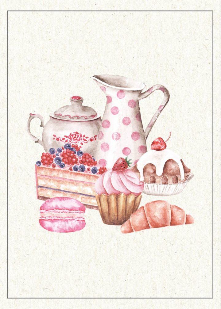 These Free Printable Cottagecore Baking Vignettes Part Two are going to add a touch of Sweetness and Charm to your Kitchen for sure.