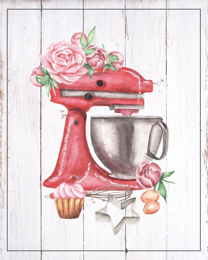 These Free Printable Cottagecore Baking Vignettes are going to add a touch of Sweetness and Charm to your Kitchen for sure.