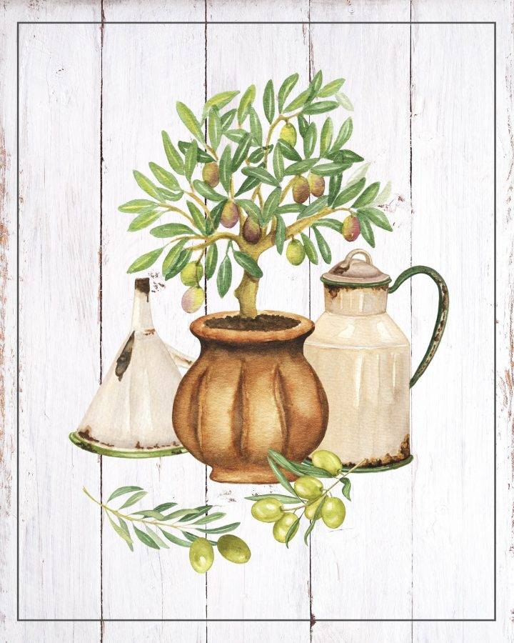 These Free Printable Rustic Farmhouse Vignettes are going to add a touch of Charm to your Kitchen for sure.