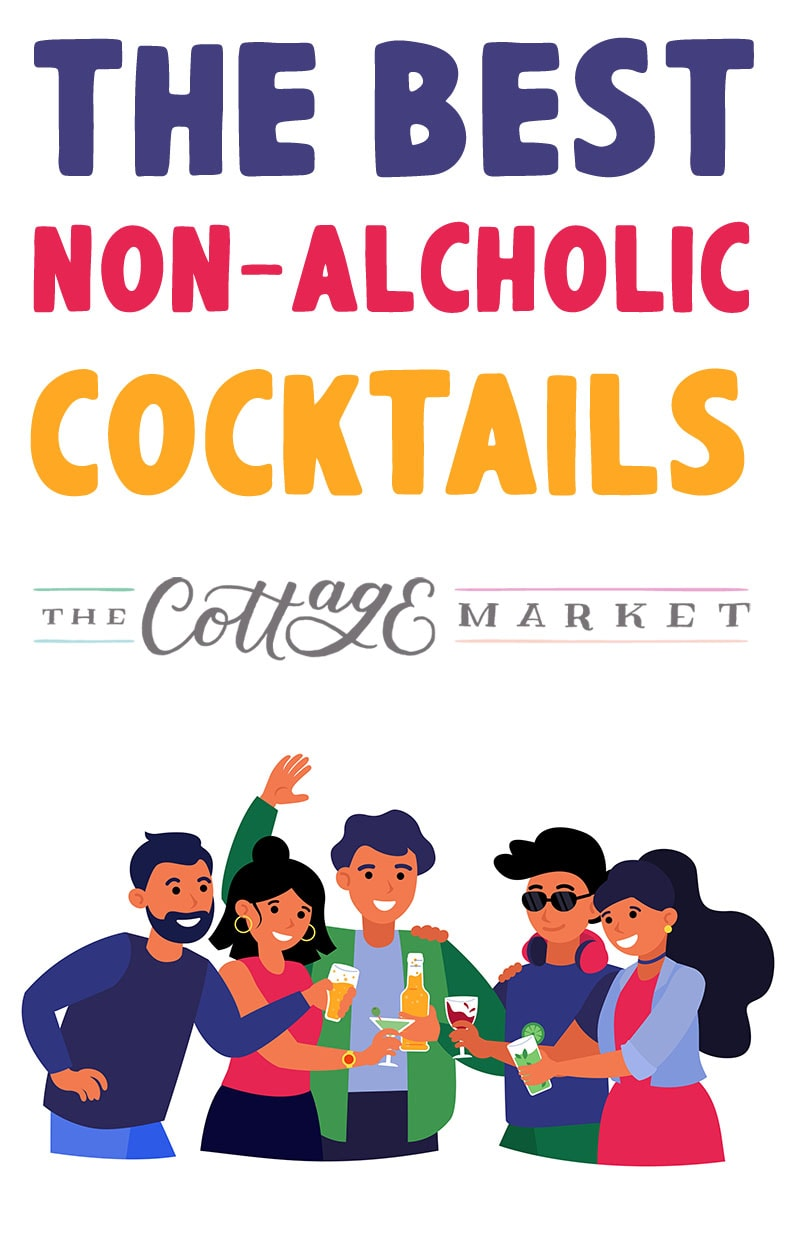 Come and check out the Best Non-Alcoholic Cocktails that would be perfect for your next party or barbecue! Refreshing and delicious!