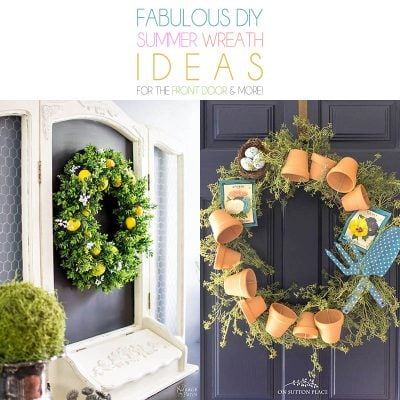 DIY Summer Wreaths that are Fresh and Fun