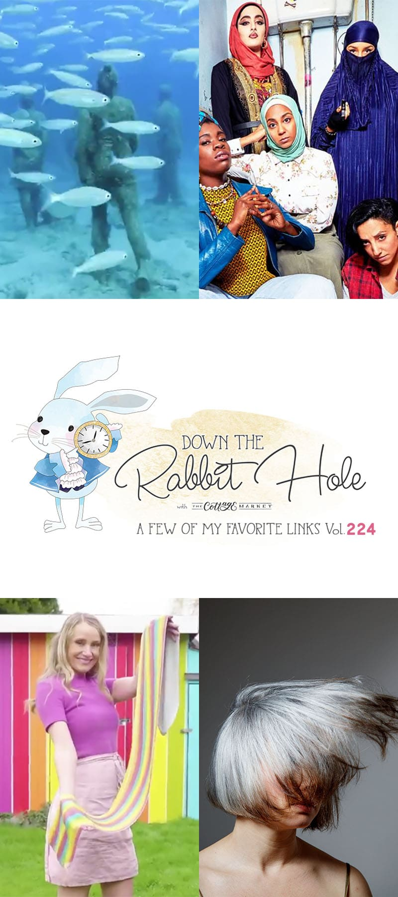 Down the Rabbit Hole Where Fun Links & Pet Rescues Meet. A great place to enjoy interesting links and also help out Pet Rescues all over the world!