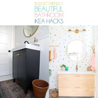 The Ultimate Collection of Bathroom IKEA Hacks