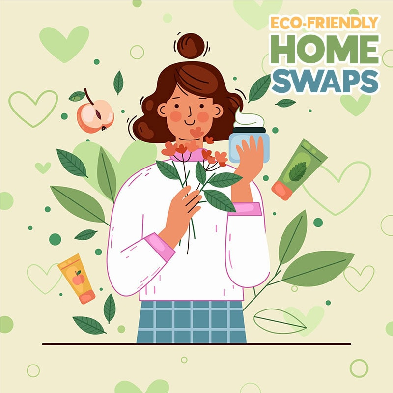 Come and check out these Super Simple Eco-Friendly Home Swaps that truly make a difference to Mother Earth.