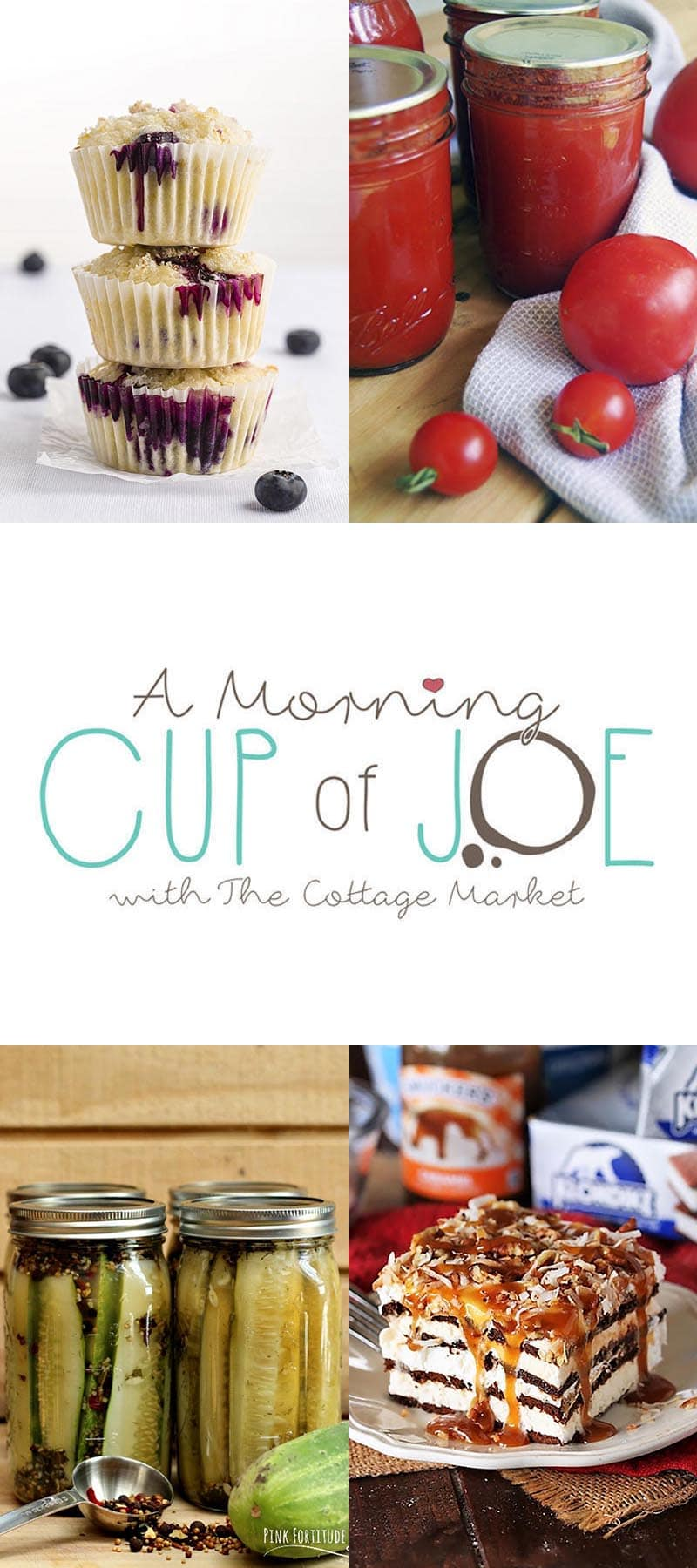 Enjoy A Morning Cup Of Joe Linky Party with DIY Features! Come and enjoy some wonderful features… check out new items on the party then share your creations!