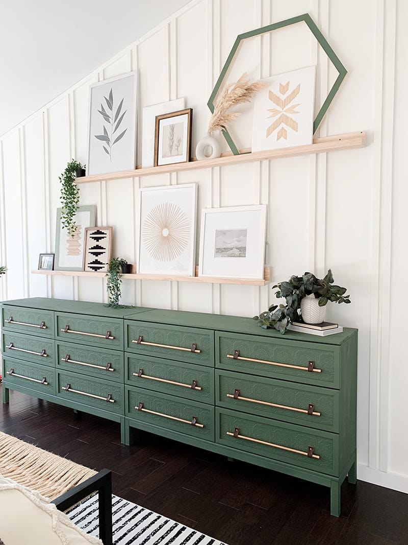 These Stunning IKEA Tarva Hacks are going to open the door for you to create budget friendly yet amazing customized furniture. Just add your own creativity and the magic will happen.