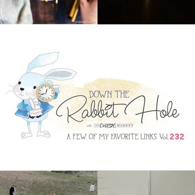 Down the Rabbit Hole!