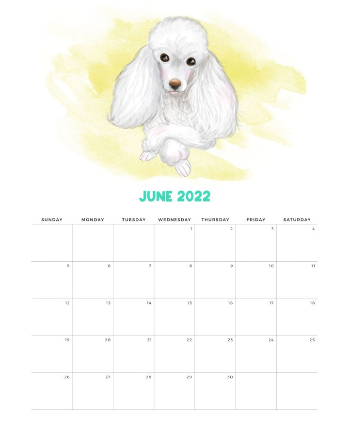 How about a Free Printable 2023 Cute Dog Calendar to get organized for the New Year! It has a happy style we know so many of you adore! Enjoy!