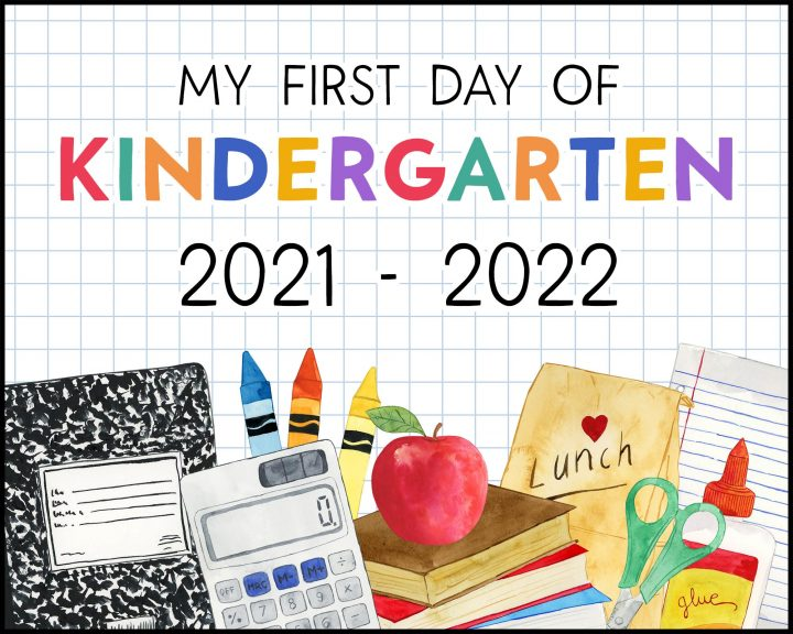 Sure hope you and you children enjoy these Free Printable First Day Of School Signs! They are colorful and fun!