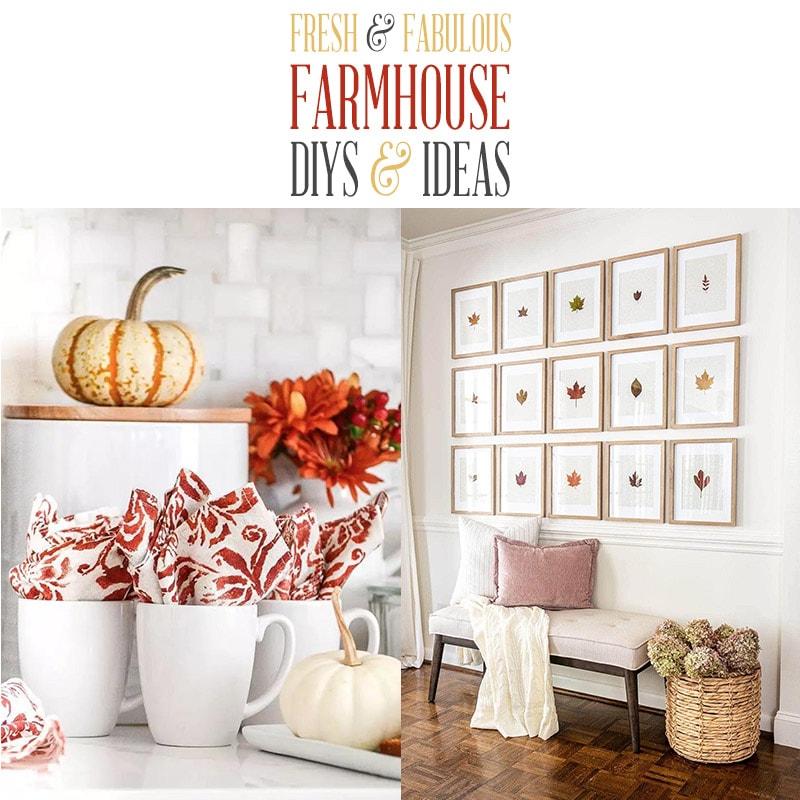 Fabulosos y frescos bricolaje e ideas de granja están esperando para inspirarte a crear.  ¡Todos los proyectos más nuevos en Farmhouse World, todo en un solo lugar para disfrutar!