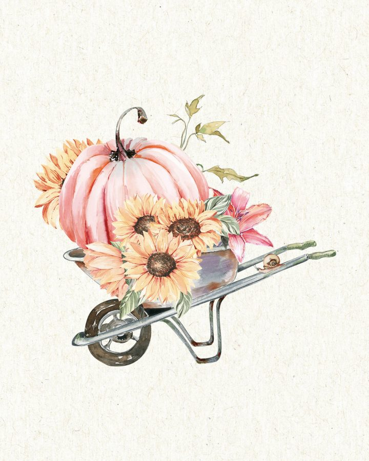 These Free Printable Farmhouse Fall Garden Vignettes Part Two are going to add a touch of Charm and Fun to your Home!