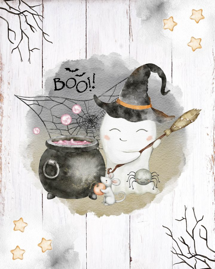 It's time to decorate for Halloween and today we have the most awesome Free Printable Cute Halloween Vignettes and I mean CUTE!!!