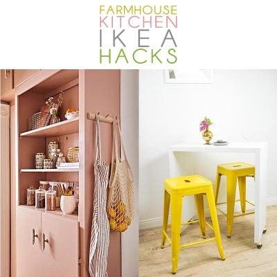 Farmhouse Kitchen IKEA Hacks that are going to turn heads!