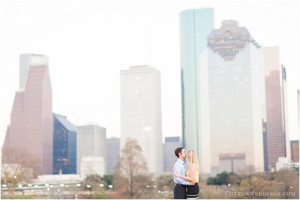 Houston Skyline Engagements