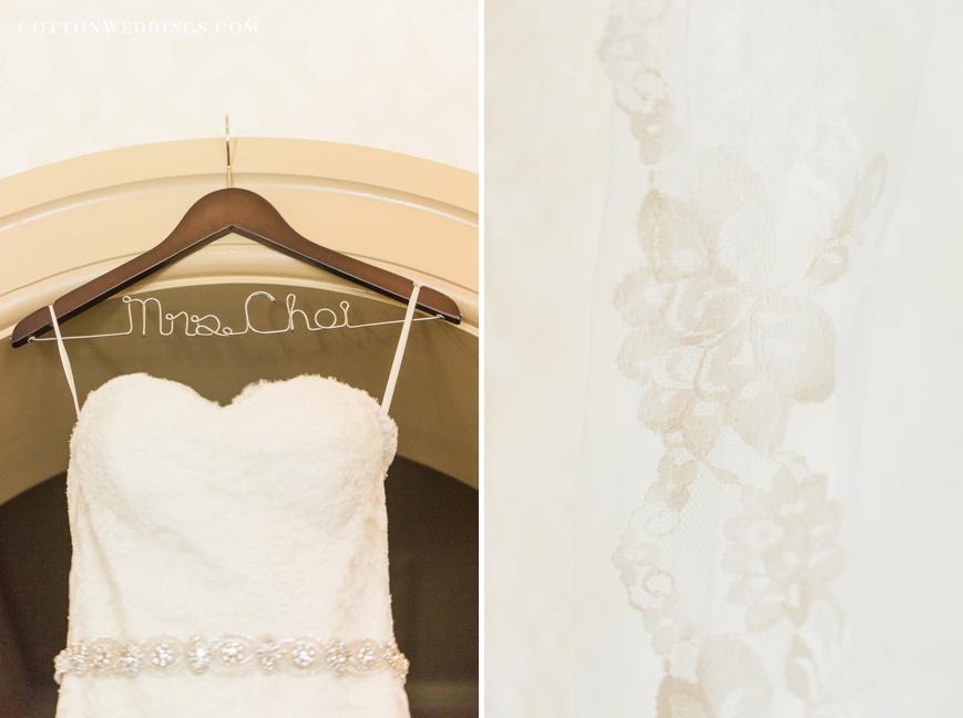 custom wedding dress hanger wedding veil