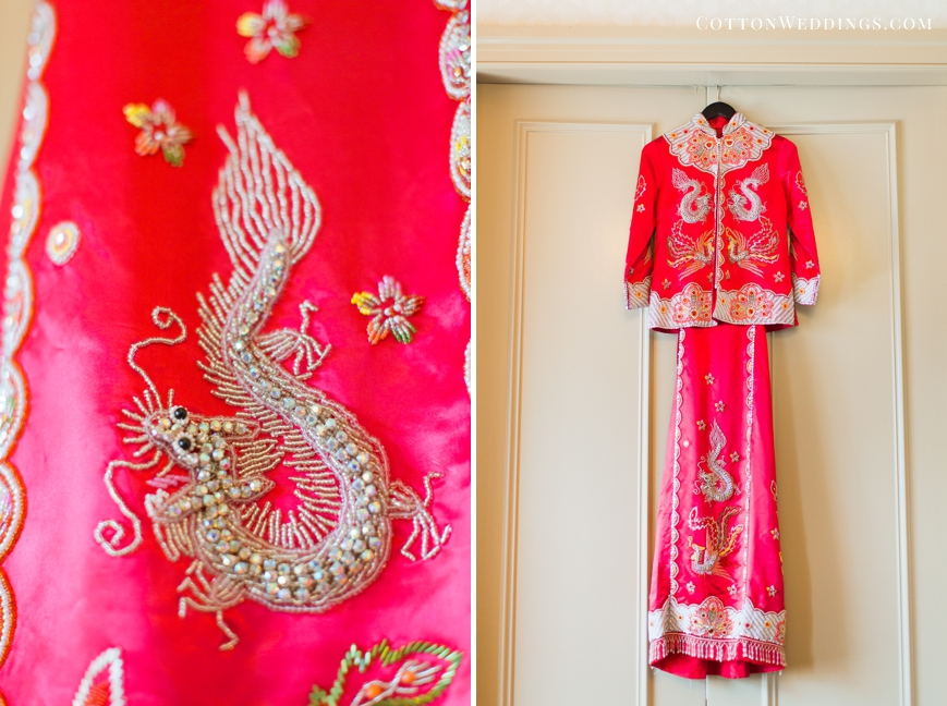 traditional asian wedding dress