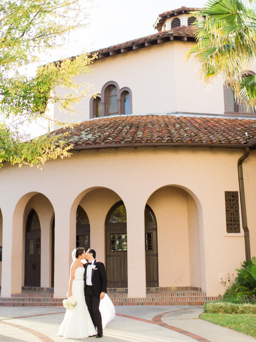 wedding at the parador bride and groom
