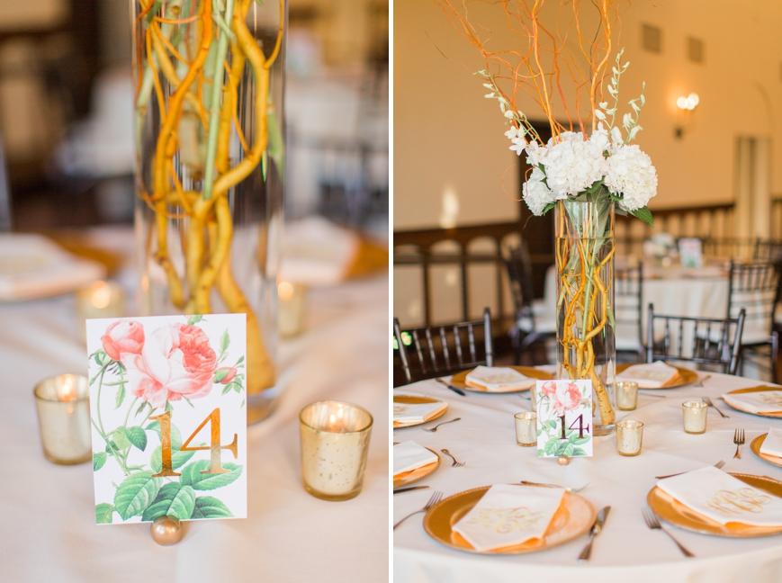 reception details floral parador houston
