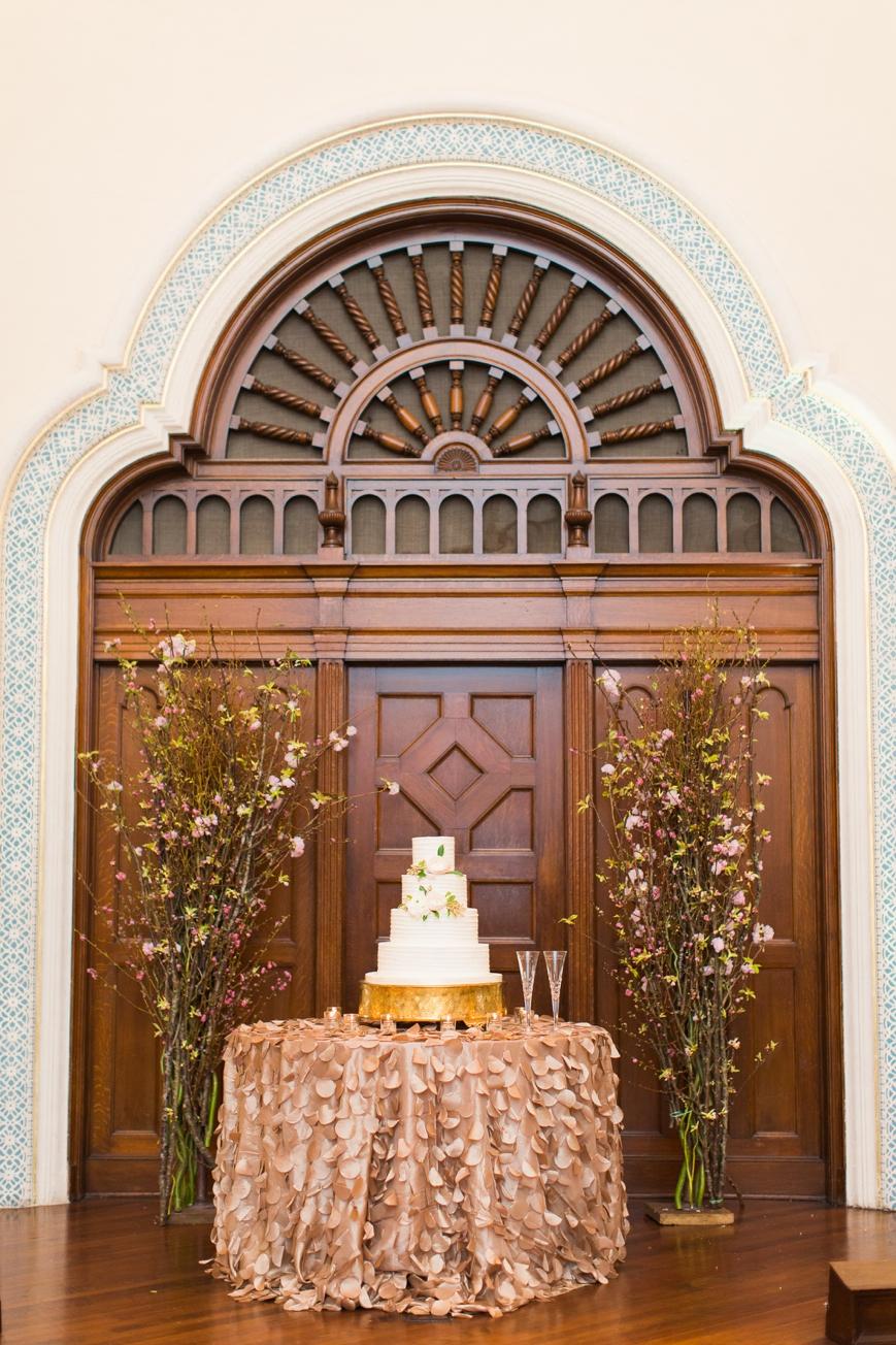 parador cake table