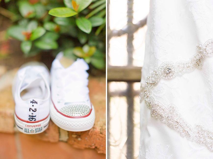 white converse wedding shoes