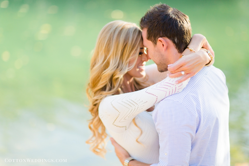Barton Springs Engagement Session